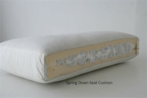 sofa with spring cushions seat cushions lester furniture mfg