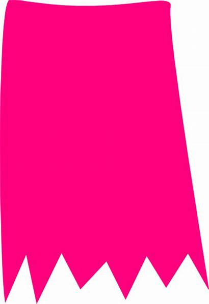 Skirt Pink Torn Clip Clipart Paper Cliparts