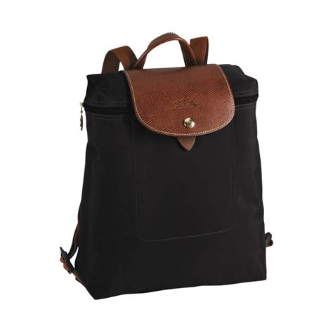 noradzstore longchamp le pliage backpack black