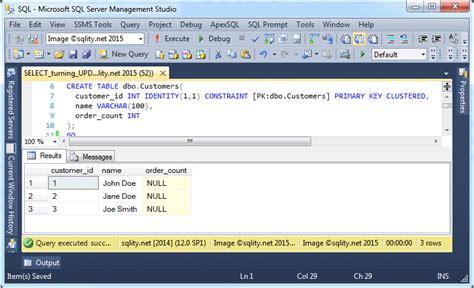 sql server show tables the hidden sql server gem update from select sqlity net