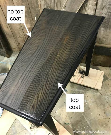 paint table black furniture paint