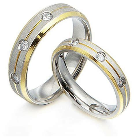 groom 18k gold diamonds matching wedding bands titanium rings 4 6mm ebay