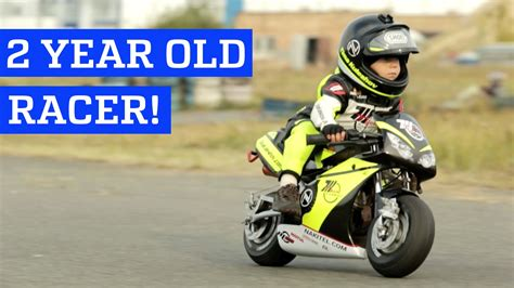 Two Year Old Motorcycle Racer!  People Are Awesome Youtube