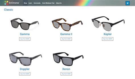 corrective lenses for color blindness in technicolor one month wearing enchroma s color