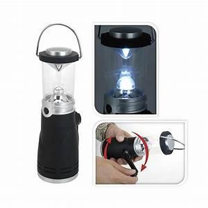 Lampe Indirektes Licht : eaxus dynamo camping lampe laterne leuchte 4 led ohne ~ A.2002-acura-tl-radio.info Haus und Dekorationen