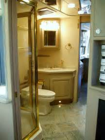Tour Buses Inside Bathroom