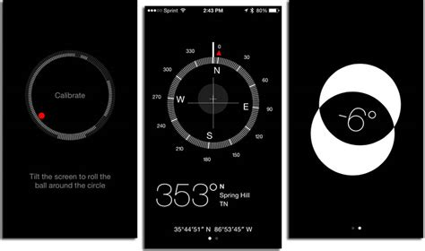 how to use iphone compass how to use the ios 7 compass app