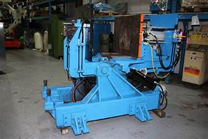 Used Stahl Permanent Mold Gravity Die Casting Machine  4680
