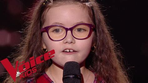 Hey :) ich bin´s emma von the voice kids ! Serge Lama - Je suis malade   Emma   The Voice Kids France 2018   Blind Audition - YouTube