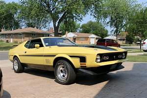 Ford Mustang 72 Fastback Mach 1   NR Classic Car Collection Stuttgart