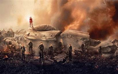 Hunger Games Mockingjay Wallpapers Wide Resolutions 2880