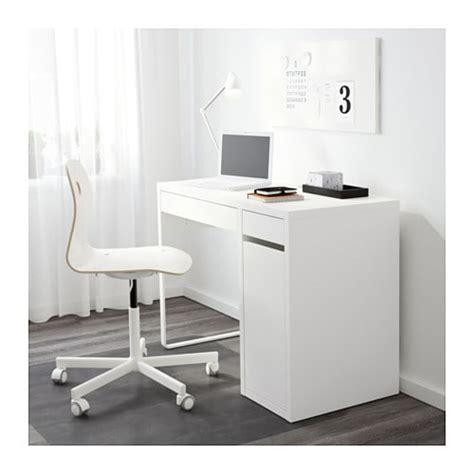 d o bureau micke bureau blanc ikea