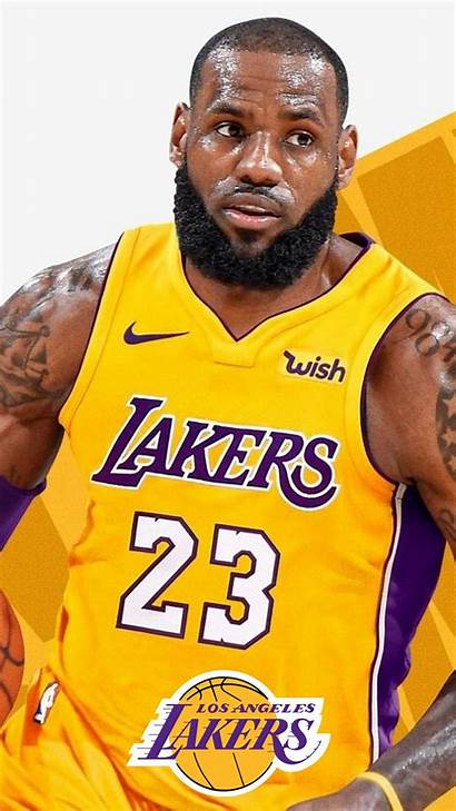Lebron Lakers James Iphone Android Basketball Wallpapers