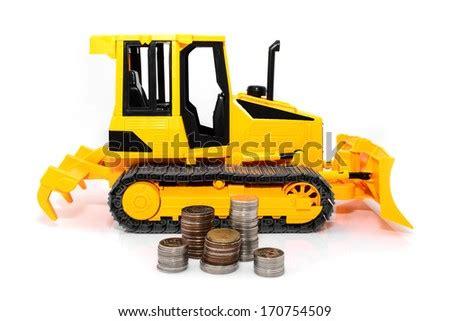 funny cartoon picture tractor excavator helmet stock vector  shutterstock