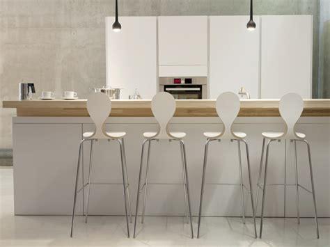 plan bar cuisine chaise plan de travail design pour bar et îlot de cuisine