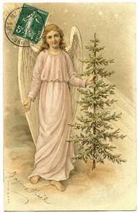 christmas angel tree vintage graphicsfairy0081 the graphics fairy