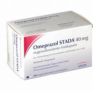 Omeprazol Stada 40 Mg Kapseln Magensaftr