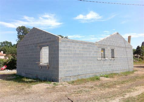 faire sa cuisine en 3d gratuitement l 39 élévation des murs en parpaings et rannage des pignons