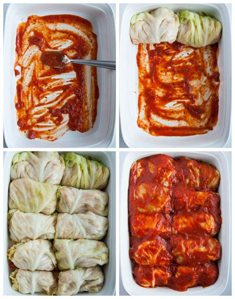 cabbage rolls in oven turkey cabbage rolls feasting not fasting