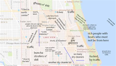 judgmental map  lakeview