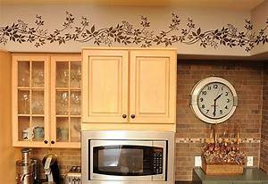 kitchen borders ideas 28 images wallpaper pertaining to With kitchen cabinet trends 2018 combined with paper cut wall art