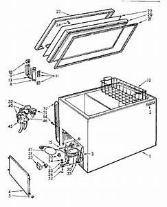 Kenmore 106712060 Chest Freezer Parts
