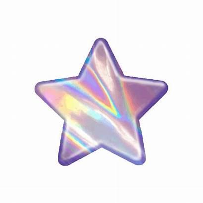 Aesthetic Glitch Glitter Stars Emoji Dream Transparent