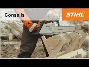 Chevalet Coupe Bois : tutoriel tron onneuse n 8 couper du bois sur chevalet ~ Premium-room.com Idées de Décoration