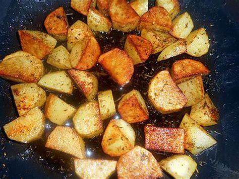 recette de cubes de pommes de terre 224 la persillade