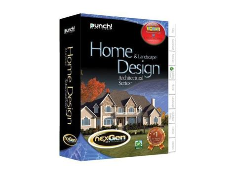 Home Design Architectural Series 18 by Punch Software Home Landscape Design Architectural