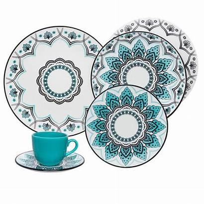 Jantar Aparelho Coup Oxford Serene Porcelanas Pecas