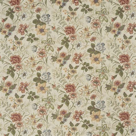 Floral Upholstery Fabric by F929 Green And Yellow Floral Tapestry Upholstery