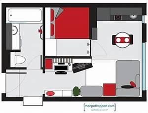 Amenager Studio 15m2 : am nagement studio comment bien agencer un studio ~ Melissatoandfro.com Idées de Décoration