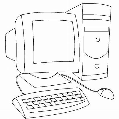 Komputer Coloring Computer Kolorowanka Druku Stacjonarny Roblox