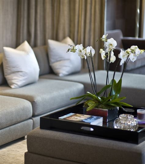 how to decorate an ottoman styling tips for decorating with trays