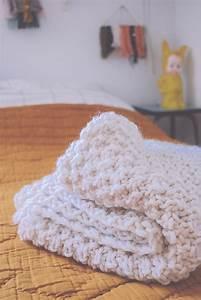 Tricoter Un Plaid En Grosse Laine : grosse laine meche ~ Melissatoandfro.com Idées de Décoration
