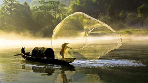 fishing xiaodong river bing wallpaper