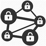 Icon Blockchain System Icons Security Network Lock