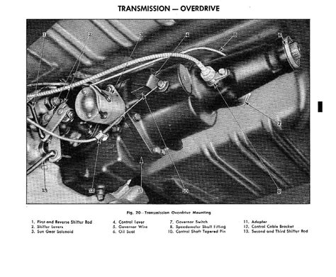 1956 Chevy Overdrive Wiring by 1955 Chevrolet Passenger Car Shop Manual