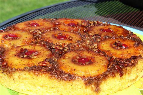 pineapple upside  cake  easy dutch oven dessert