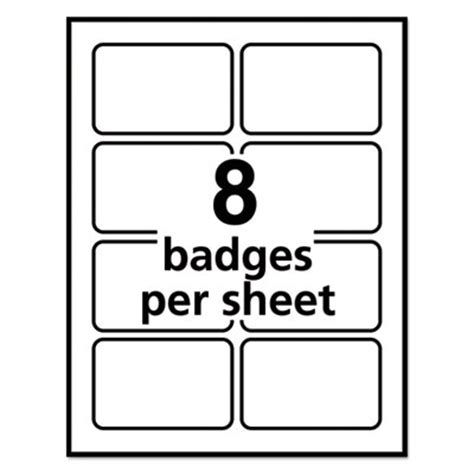 avery 5395 template avery 5395 self adhesive name badge labels