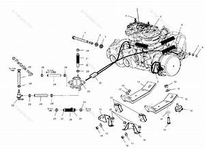 Polaris Snowmobile 2001 Oem Parts Diagram For Engine