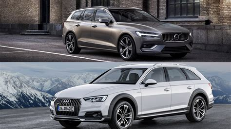 2019 Volvo V60 Vs 2018 Audi A4 Allroad  A Visual