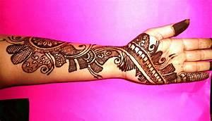 Easy to Make Arabic Patterns Of Mehndi Design For Full ...