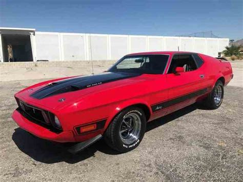 1973 Ford Mustang Mach 1 For Sale On Classiccars.com