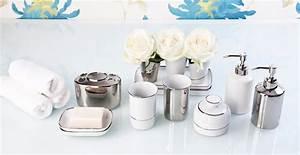 Accessoires Pour Salle De Bain : accessoires de salle de bain bien tre et d co westwing ~ Edinachiropracticcenter.com Idées de Décoration
