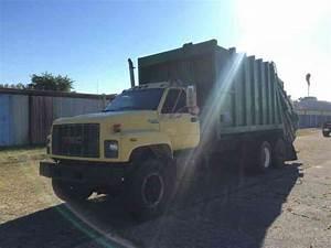 Gmc Topkick Garbage Truck  1995    Heavy Duty Trucks