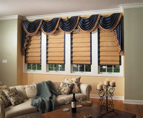 Hanging Scarf Valance Curtains For Living Room
