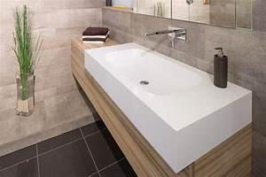 Waschtisch Nach Maß : badm bel mit pfiff waschtisch nach ma aus corian modern badezimmer essen von klocke ~ Sanjose-hotels-ca.com Haus und Dekorationen