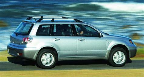 2003 Mitsubishi Outlander Review by Mitsubishi Outlander 2003 2006 Reviews Technical Data
